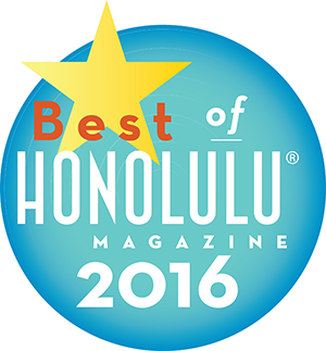 Honolulu's Best Hair Salon Award 2017