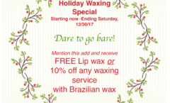 Waxing Special Offer
