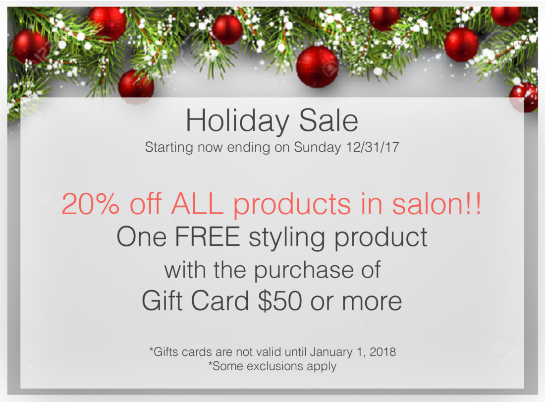 Christmas Promotion 2017